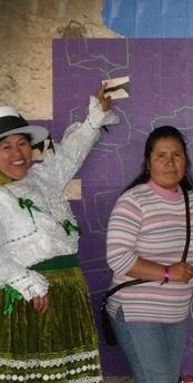 mujeres reclaman la tierra Perú
