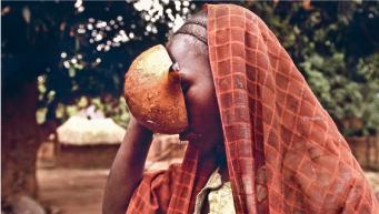 Una refugiada sudanesa. (c) Oxfam Intermón