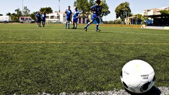 Partit de fútbol benèfic. (c) Oxfam Intermón