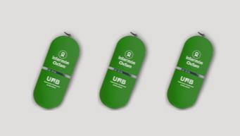 USB, pen drives Oxfam Intermón. (c) Oxfam Intermón
