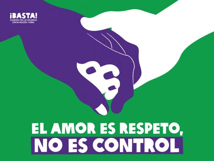 El amor es respeto, no es control