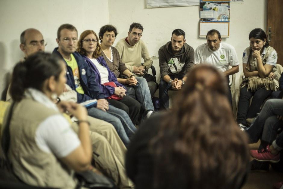 (c) Andrea Ruffini / Oxfam Intermón