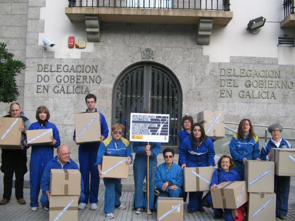 Actos de calle 32xRajoy A Coruña