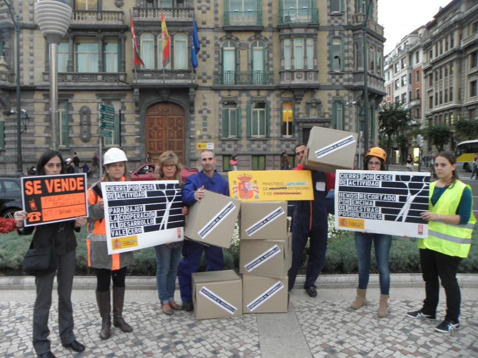 Actos de calle 32xRajoy Bilbao