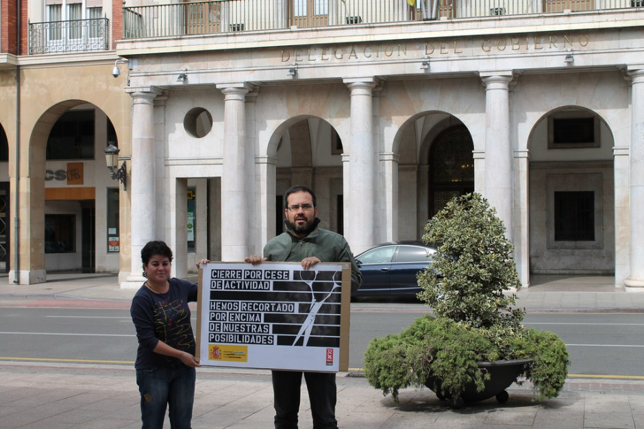 Actos de calle 32xRajoy Logroño