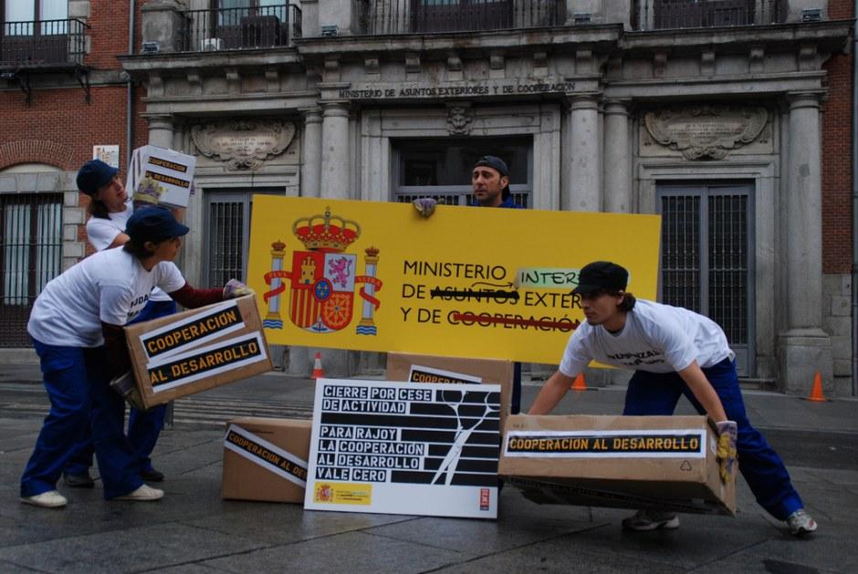 Actos de calle 32xRajoy Madrid