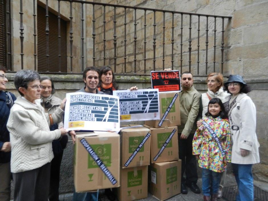 Actos de calle 32xRajoy Salamanca