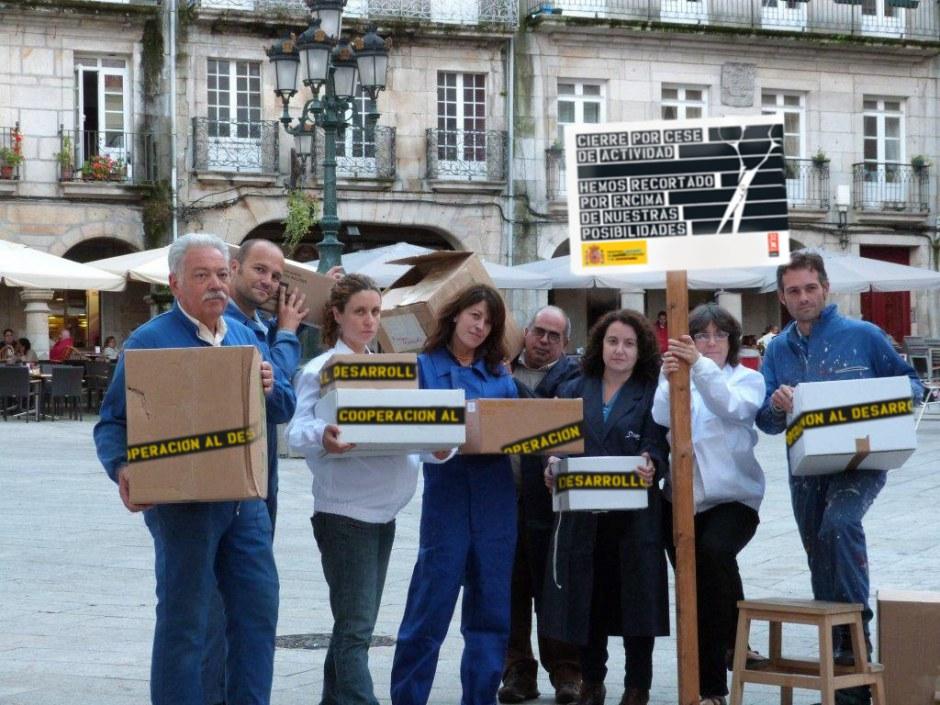 Actos de calle 32xRajoy Vigo
