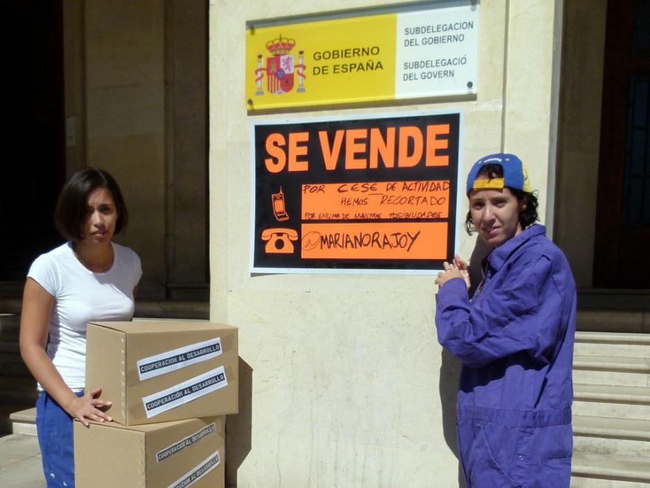 Actos de calle 32xRajoy Alicante
