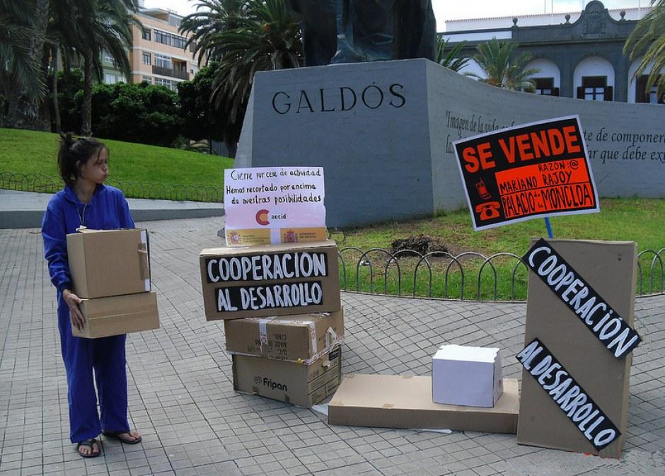 Actos de calle 32xRajoy Las Palmas