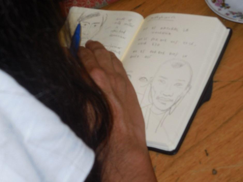 Sigue el relato de su viaje en www.ojoylapiz.com