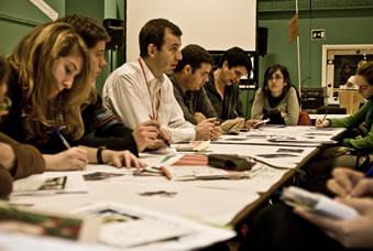 José Antonio Hernández, del departament de Campanyes i Estudis d'Oxfam Intermón. (c) Pablo Tosco / Oxfam Intermón