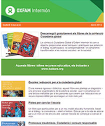 Boletín de Noticias de Educación Oxfam Intermón