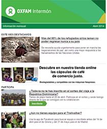 Boletín de Noticias Oxfam Intermón