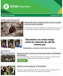 Butlletí de Noticies Oxfam Intermón