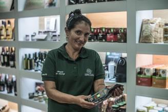 Lucila Blandón, Café Tierra Madre
