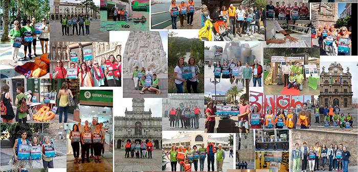 Salimos a la calle en más de 30 ciudades de toda España para pedir derecho a refugio.
