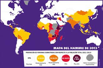 Informe: acabar con el hambre está al alcance de nuestras manos