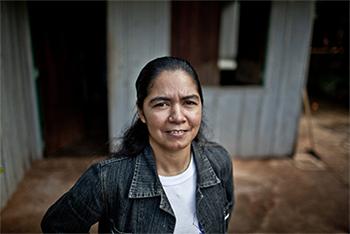 """Perla Álvarez: """"Hay que potenciar los liderazgos de las mujeres. Hay que construir otro modelo, diferente al del hombre"""""""