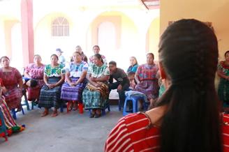 Mujeres indígenas de Guatemala
