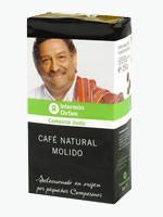 Café natural molido