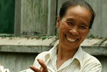Artesana de la ONG Craft Link. Vietnam