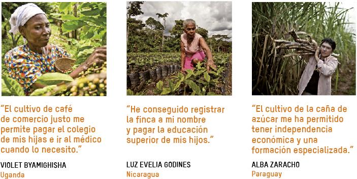 familias productoras de Tierra Madre