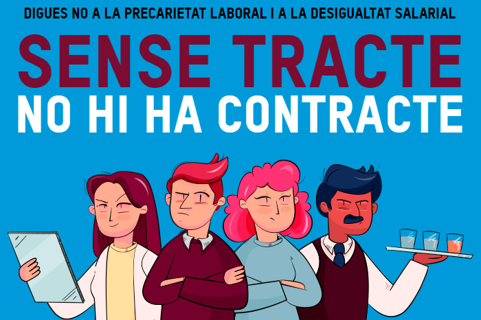 Sense tracte, no hi ha contracte