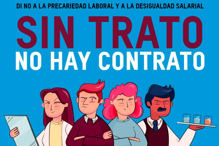 Sin trato, no hay contrato