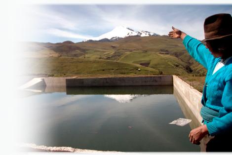 Nuestra especialidad: agua para trabajar