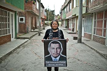 LUZ MARINA BERNAL. 54 años. Madres de Soacha