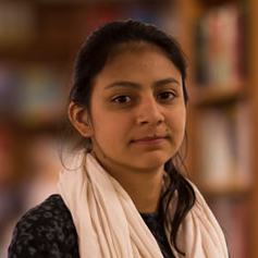 Laura Zúñiga Cáceres, la menor de las hijas de Berta Cáceres