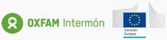 Logo Comisión Europea y Oxfam