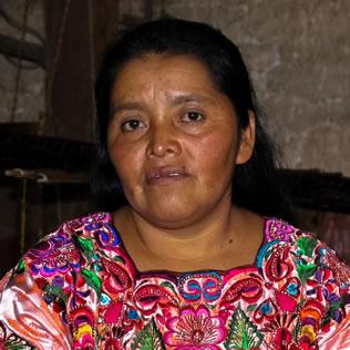 Reina Candelaria García. Mujeres que están
