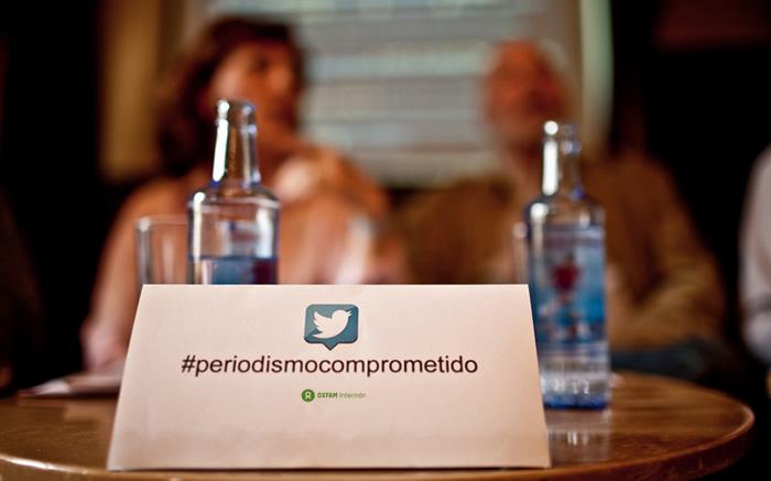 Encuentro de Periodismo comprometido. Café Comercial, Madrid, 9 de mayo de 2013. (c) Pablo Tosco / Oxfam Intermón
