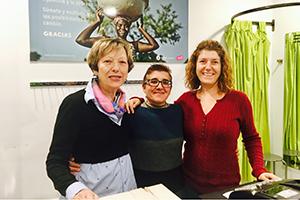 Voluntaria de Oxfam Intermón