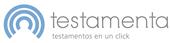 Logotipo Testamenta. Testamentos en un click
