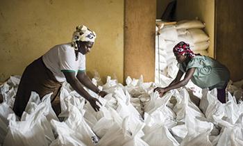 Burkina Faso Arroz como medio para revertir la pobreza