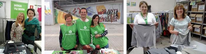 Voluntariado en tiendas Segunda Oportunidad. (c) Oxfam Intermón