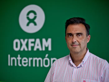 José María Vera, Director de Oxfam Intermón