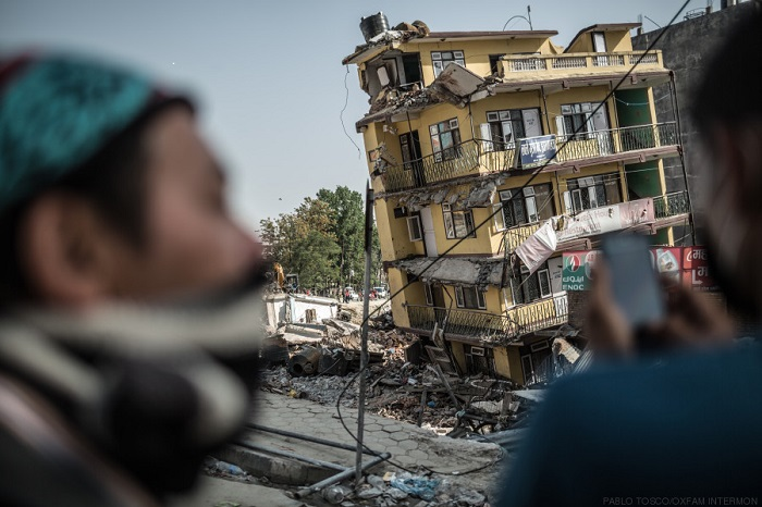 Casas destruidas en Nepal (c) Pablo Tosco